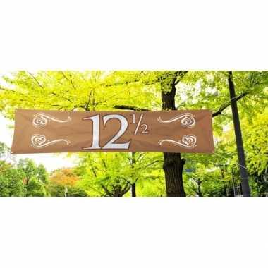 12,5 jaar jubileum banner
