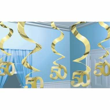 50 jaar jubileum rotorspiraal goud