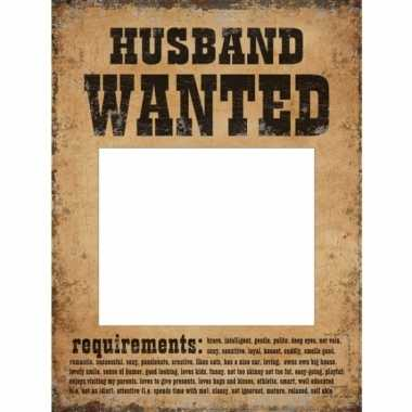 Bruiloft foto prop set most wanted