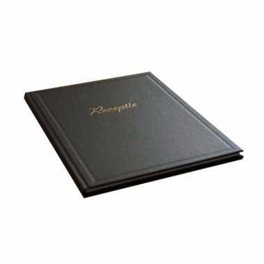 Bruiloft gastenboek zwart