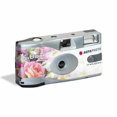 Bruiloft wegwerp camera met flitser voor 27 kleuren fotos