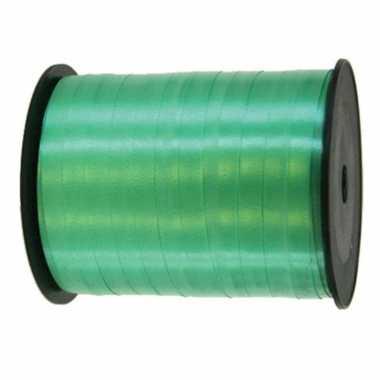 Cadeaulint/sierlint in de kleur groen 5 mm x 500 meter