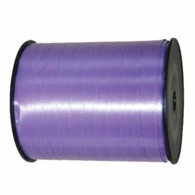 Cadeaulint/sierlint in de kleur lavendel paars 5 mm x 500 meter