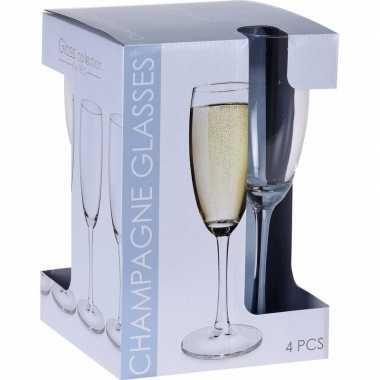 Champagne glazen set 180 ml 20x stuks