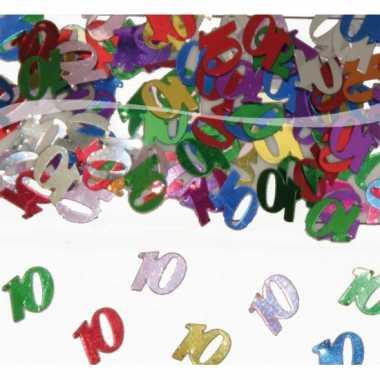 Confetti 10 jaar