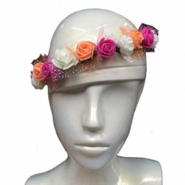 Festival hoofdband met bloemen