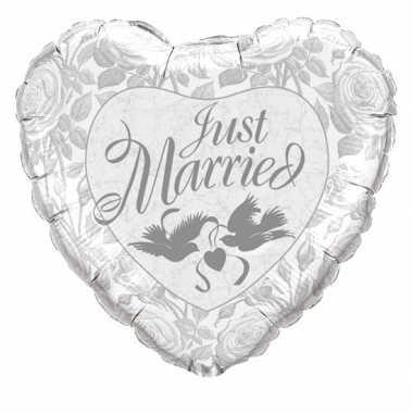 Folie ballon just married 90 cm
