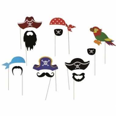 Foto prop set piraat 12 delig