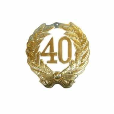 Jubileumkrans 40 jaar