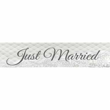 Just married banner 360 cm