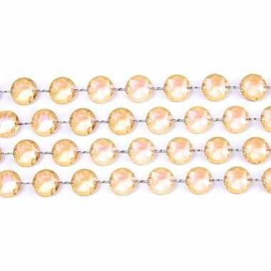 Kristal slinger goud 1 meter