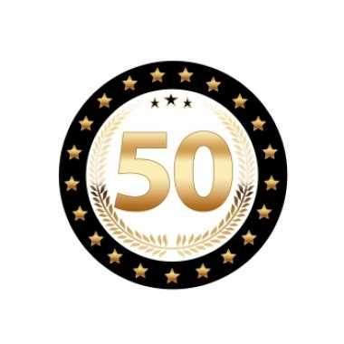 Luxe bierviltjes 50 jaar