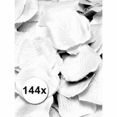 Luxe witte rozenblaadjes