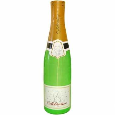 Opblaasbare champagne fles 180 cm