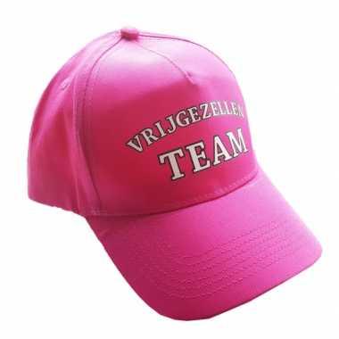 Vrijgezellenfeest team pet voor dames