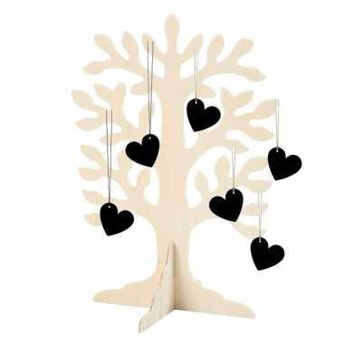 Wensboom voor het bruidspaar 30 cm
