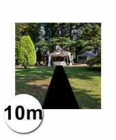 10 meter zwarte loper 1 meter breed