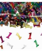 3x zakjes confetti 1 jaar verjaardag thema