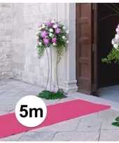 5 meter lichtroze lopers 1 meter breed