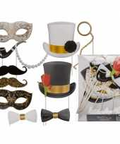Foto prop set glamour party 12 stuks