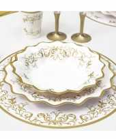 Luxe placemats goud 33 cm