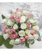 Servetten boeket bruiloft 3 laags 20 stuks