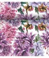 Tafelloper 3 in 1 met bloemen print 4 80 meter