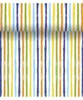 Tafelloper 3 in 1 met strepen print 4 80 meter