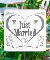 Tuinbord just married