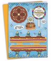 Xxl 3d taart kaart trouwdag